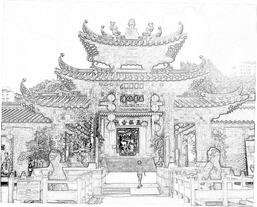 【一步校書郎】点校——广州游览小志(2)五羊观、海幢寺、海珠寺